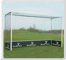 "Hockey Goal Post : high quality 3"" X 2"" Wooden / Steel / Aluminum Rods with wooden backboards"