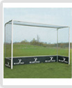 Hockey Goal Post Front Bars